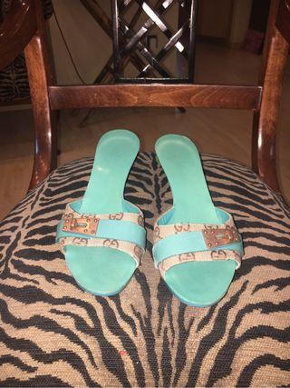 Sandalias mujer gucci