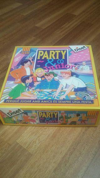 party co, junior en catala