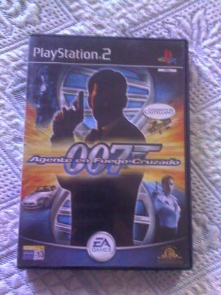Juego ps2 007 Agente en Fuego Cruzado