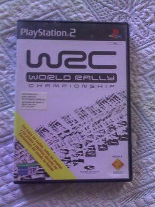 Juego ps2 World Rally Championship