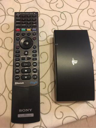 Tv ps3 con mando
