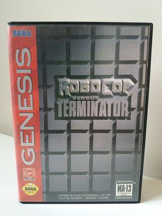 Juego Robocop vs. The Terminator para Sega Genesis