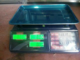 balanza,bascula 40kg digital nuevas