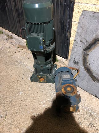 Motor agua presion