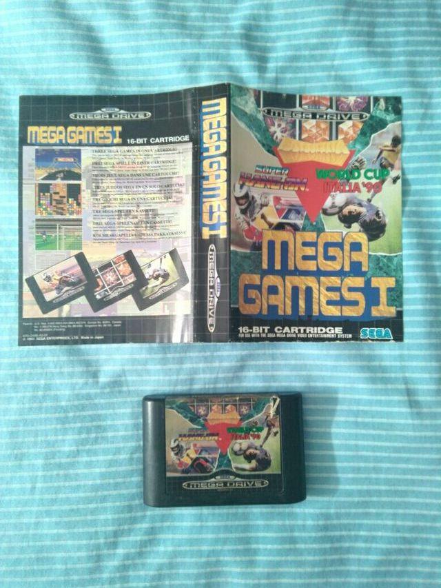 Mega Games 1 Mega Drive