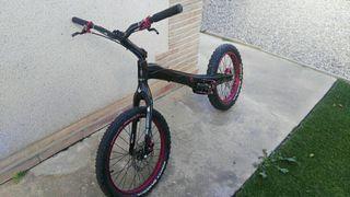 Monty M5 Carbono bike trial