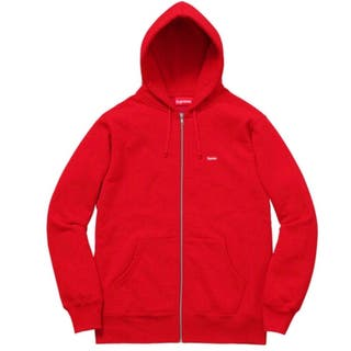 SUPREME Sweatshirt BOX ZIP UP