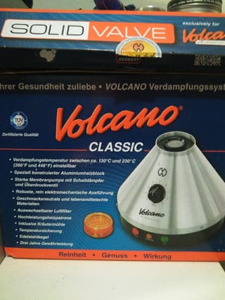 volcano con muy poco uso