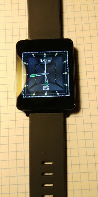 Reloj LG digital