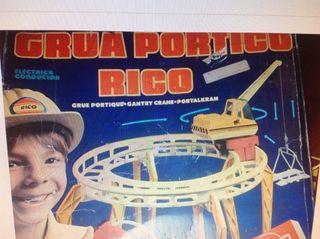 VENDO CAMBIO GRUA RICO