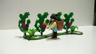 recolectora de uva de Playmobil