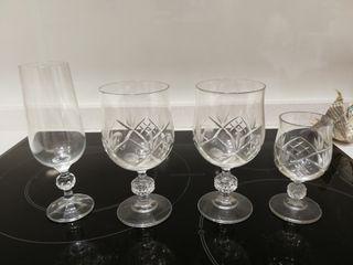 Cristaleria, copas(PRECIO NEGOCIABLE)