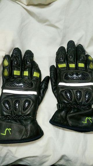 guantes para moto de mujer