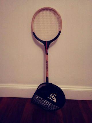 raqueta antigua.