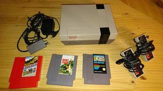 REBAJADA!!! CONSOLA Nintendo NES (8 bits)