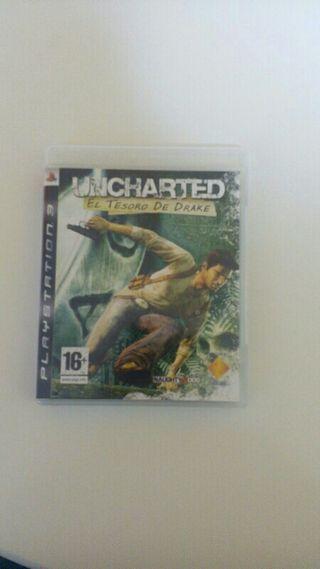 Vendo juego de PS3, Uncharted: el tesoro de Drake