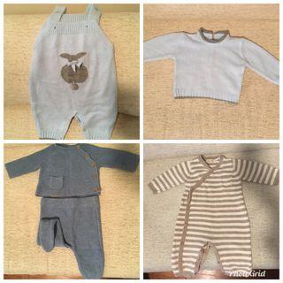 Lote ropa bebe 1-3M invierno
