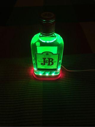 Lámpara LED botella JB de 20cl