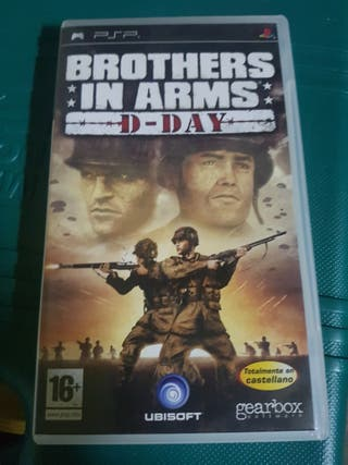 vendo Juego psp Brothers In Arms D-Day