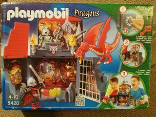 Playmobil Dragons sin estrenar.