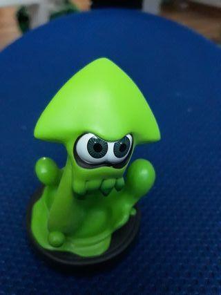 Amiibo Calamar Verde (Wii u/switch)