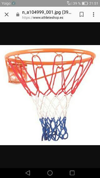 canasta de baloncesto nueva a estrenar