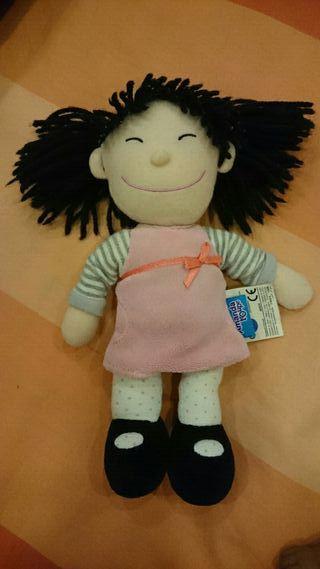 muñeca amanda imaginarium+perrita