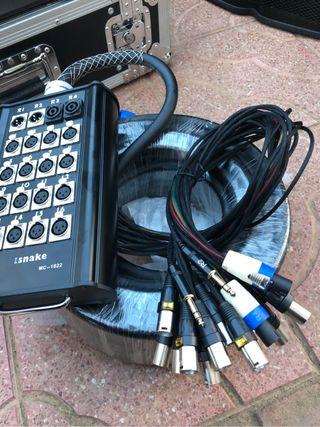 Cables audio pro snake pro 130€ nuevo a estrenar