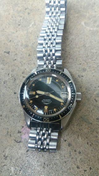antiguo reloj diver POTENS SQUALE años 60