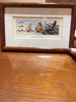 cuadro nacimiento barcos