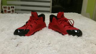 Deportivas rojas Nike de chico (Basket) T.43