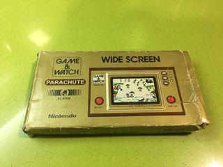Game watch parachute Nintendo,Bandai,sega,casio