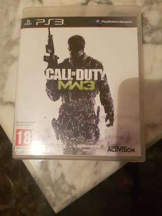 vendo Juego ps3 Call of Duty mw3