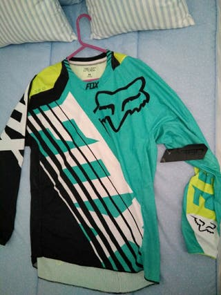 camiseta motocros FOX 360 savant