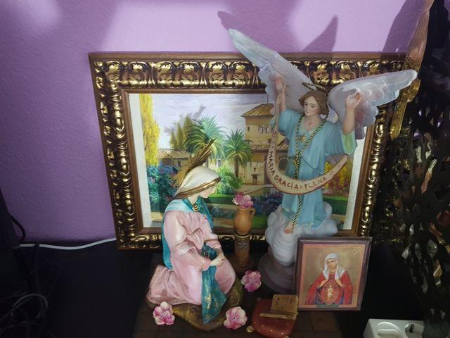 Anunciacion Del Angel Gabriel A Maria De Segunda Mano Por 350 En