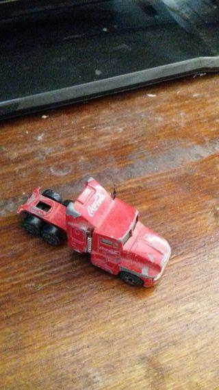 camion trailer coca.cola....