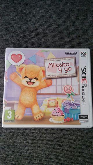 Mi Osito y Yo. Juego Nintendo 3DS/2DS