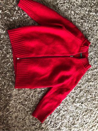 Chaqueta lana benetton