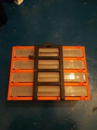 caja organizadora de pesca