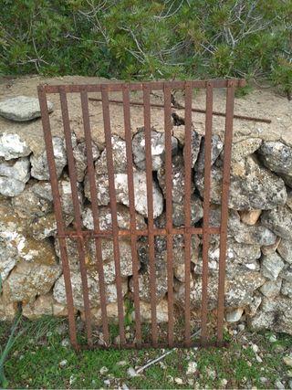 Barrera de hierro