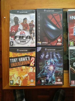 Videojuegos Wii y Gamecube