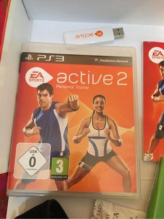 Juego PS3 Entrenador active 2