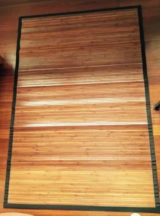 Alfombra bambu natural de segunda mano por 15 en bilbao wallapop - Alfombra de bambu ...