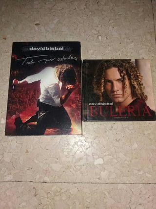 david bisbal cds y dvd