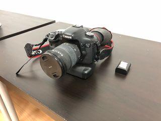 Canon 7D cámara profesional reflex