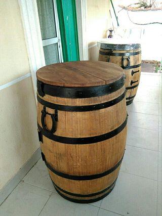 barrica paellero