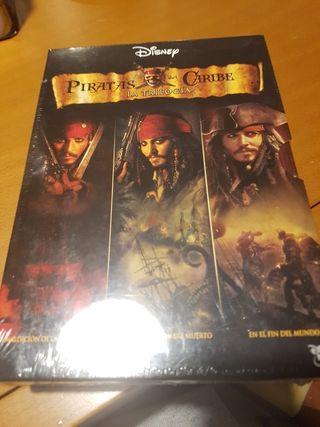 Dvd trilogía Piratas del Caribe sin abrir