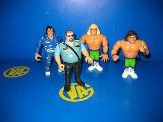 figuras titan Sport años 90 wrestling 4 figuras