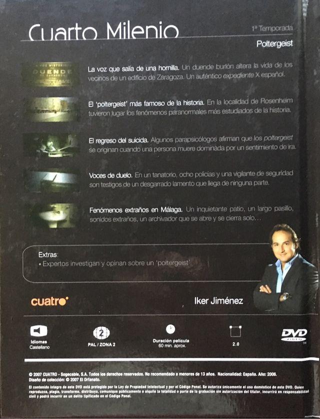 DVD Cuarto Milenio 3. Iker Jiménez de segunda mano por 25 € en ...