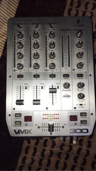 Mesa mezcladora vmx 300